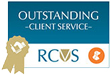 RCVS Outstanding Client Service award